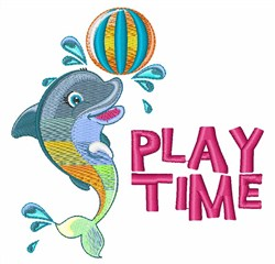 Play Time embroidery design
