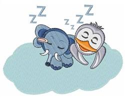 Sleep Animals embroidery design