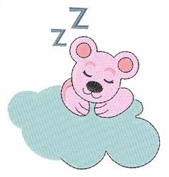 Sleep Bear embroidery design