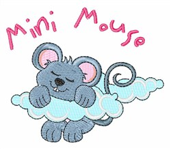Mini Mouse embroidery design