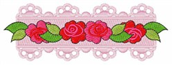Rose Flower embroidery design