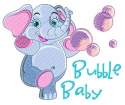Bubble Baby embroidery design