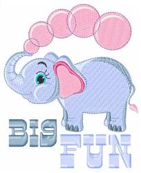 Big Fun embroidery design