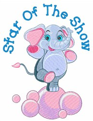 Star of the Show embroidery design