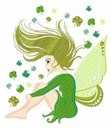 Irish Fairy embroidery design