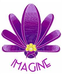 Imagine Flower embroidery design