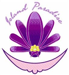 Island Paradise embroidery design