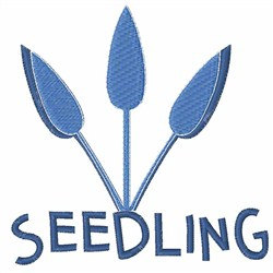 Seedling Flowers embroidery design