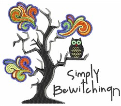 Simply Bewitching embroidery design