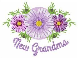 New Grandma embroidery design