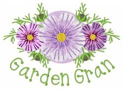 Garden Gran embroidery design