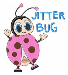 Jitter Bug embroidery design