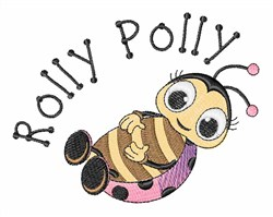 Rolly Polly embroidery design