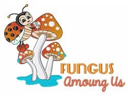 Fungus Among Us embroidery design