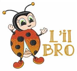 Lil Bro embroidery design