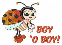 Boy O Boy! embroidery design