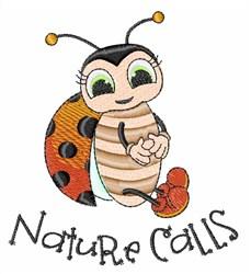 Nature Calls embroidery design