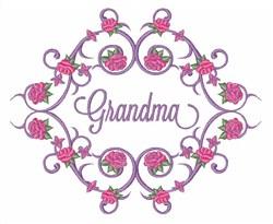 Grandma Roses embroidery design