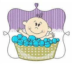 Baby Bath embroidery design