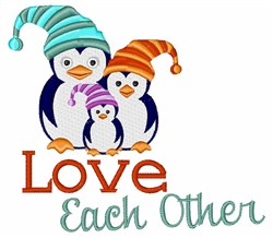 Love Each Other embroidery design