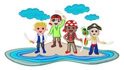 Pirate Island embroidery design