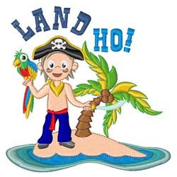 Land Ho! embroidery design