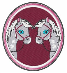 Pony Frame embroidery design