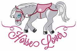 Horse Lover embroidery design