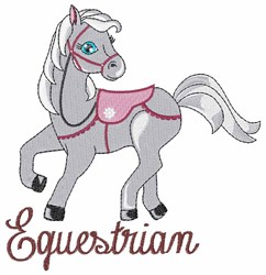 Equine Equestrian embroidery design