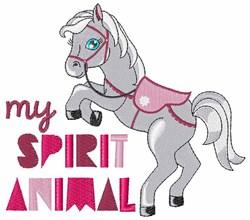 My Spirit Animal embroidery design