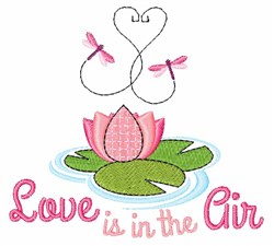 Love is in the Air embroidery design