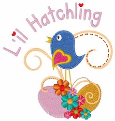 Lil Hatchling embroidery design