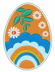 Painted Egg embroidery design