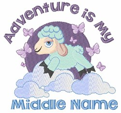 Middle Name embroidery design