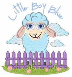 Little Boy Blue embroidery design