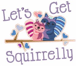Get Squirrelly embroidery design