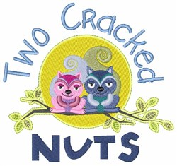 Cracked Nuts embroidery design