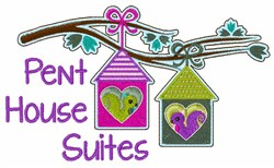 Pent House Suites embroidery design