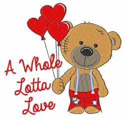 Lotta Love embroidery design