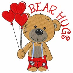 Bear Hugs embroidery design