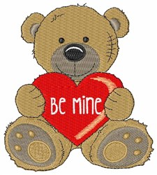 Be Mine embroidery design