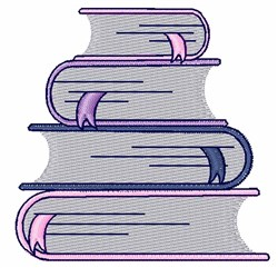 School Books embroidery design