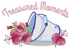 Treasured Moments embroidery design