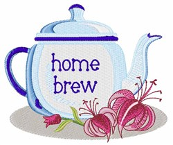 Home Brew embroidery design