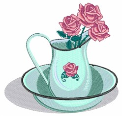 Water Bowl embroidery design