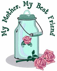My Mother embroidery design