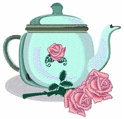Rose Pot embroidery design