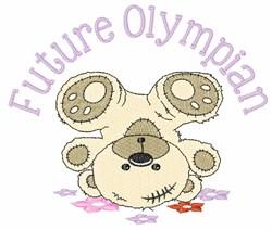 Future Olympian embroidery design