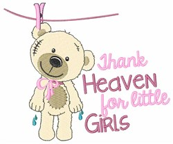 Thank Heaven embroidery design