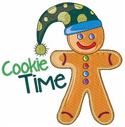 Cookie Time embroidery design
